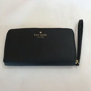 Kate Spade Black Wallet/wristlet